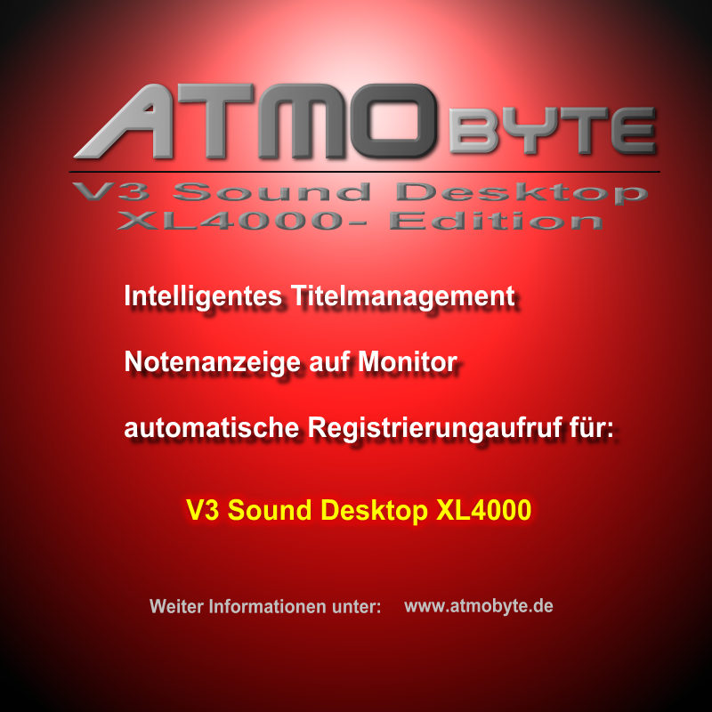 V3 Sound Desktop XL4000 Edition
