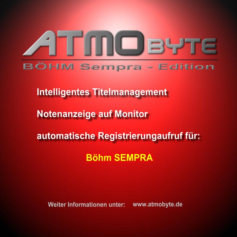 Böhm SEMPRA Edition